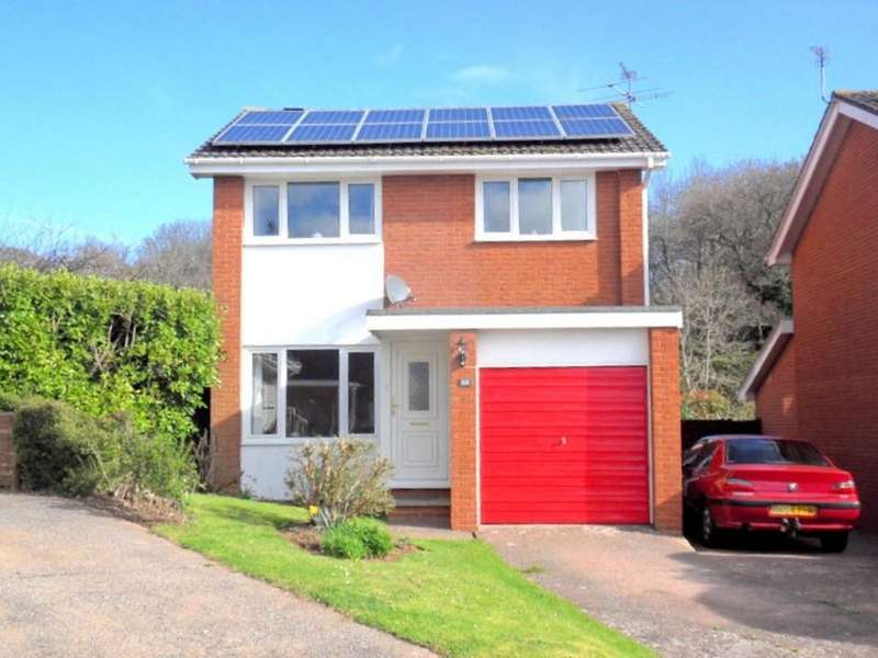 3 Bedrooms Detached House for sale in Meadow View Road, Exmouth