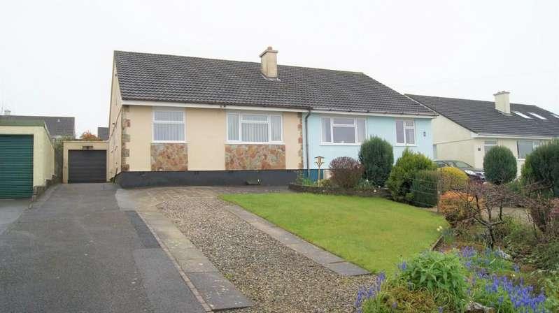 2 Bedrooms Semi Detached Bungalow for sale in Bere Alston
