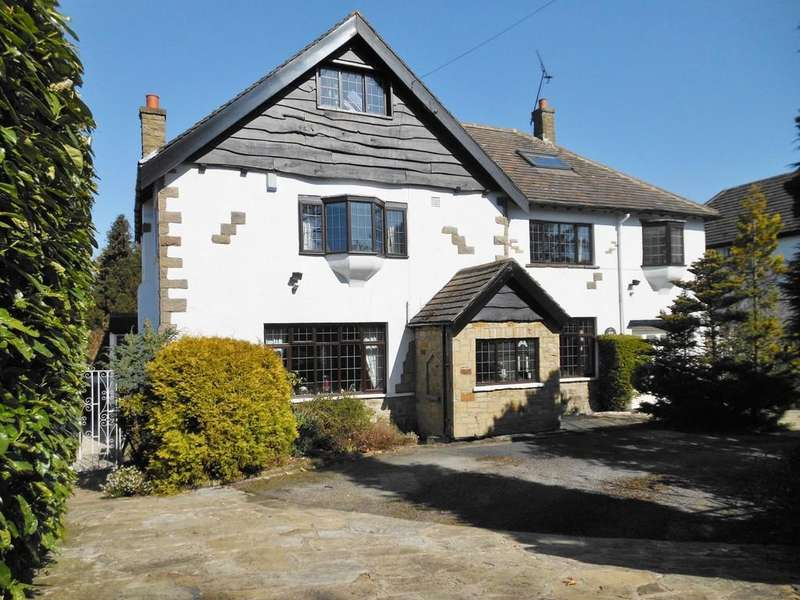 5 Bedrooms Detached House for sale in Breary Lane East, Bramhope