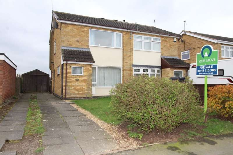 2 Bedrooms Semi Detached House for sale in Cunnery Close, Barlestone, Nuneaton, CV13
