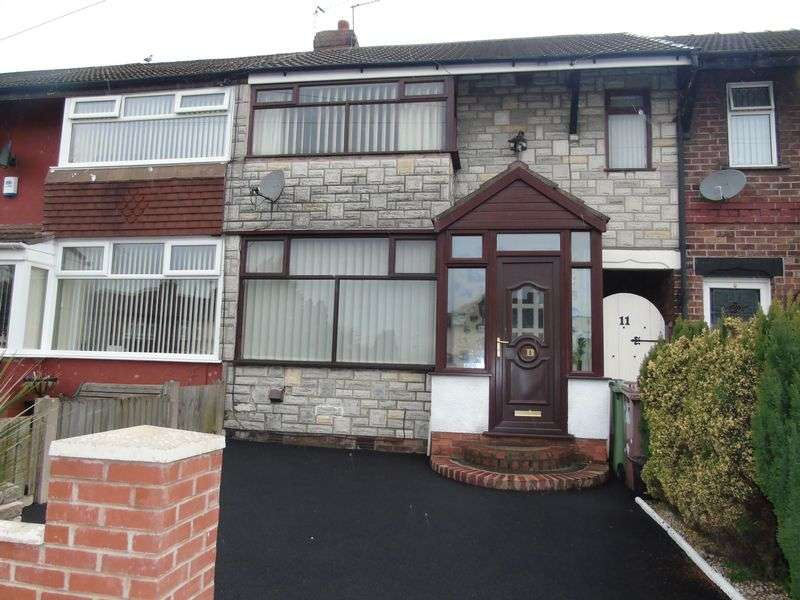 3 Bedrooms Terraced House for sale in Ivyfarm Road, Prescot