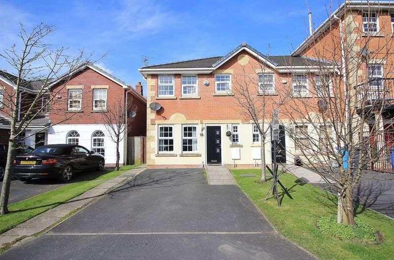 3 Bedrooms House for sale in 18 Garden Close, Poulton-Le-Fylde, Lancs FY6 7WG
