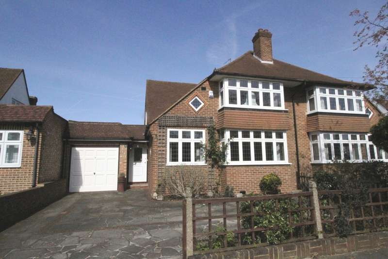 4 Bedrooms Semi Detached House for sale in Sacksville Avenue, Hayes
