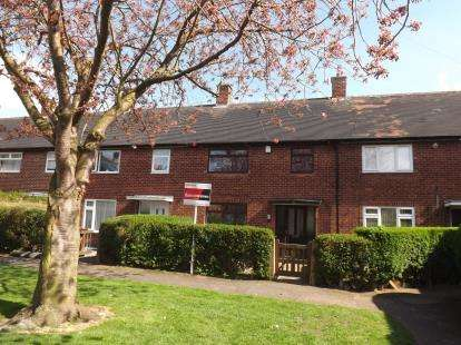 3 Bedrooms Terraced House for sale in Hervey Green, Clifton, Nottingham
