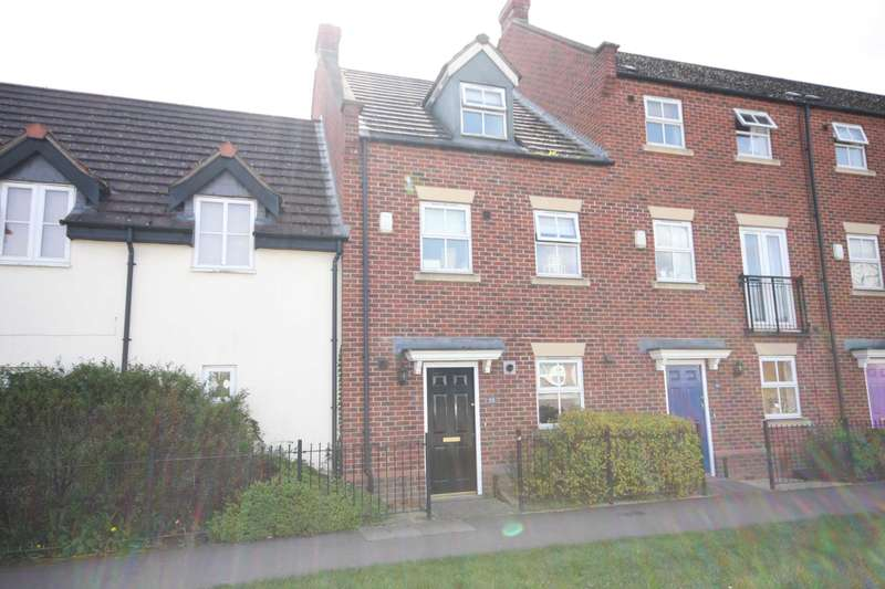 3 Bedrooms Town House for sale in Cropston Road, Anstey