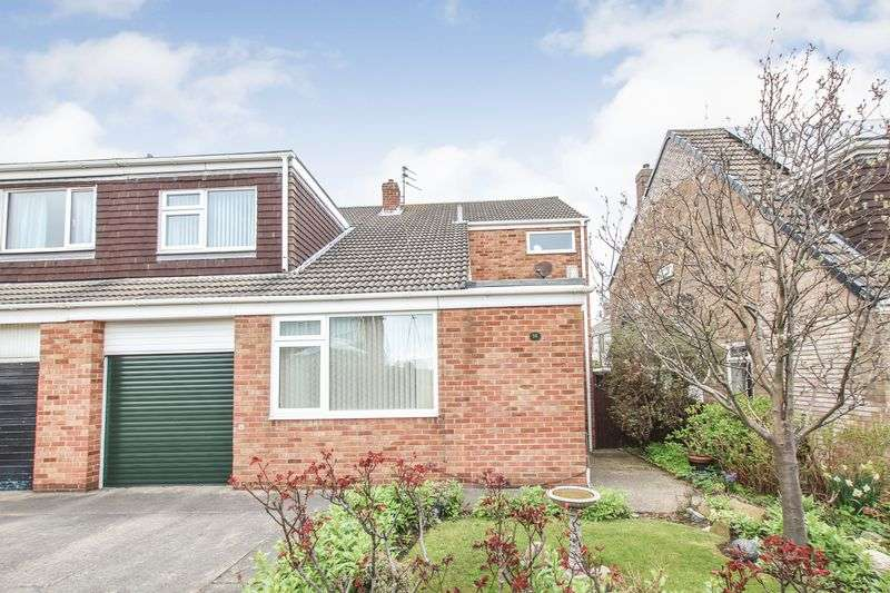 4 Bedrooms Semi Detached House for sale in Seymour Close, Marske