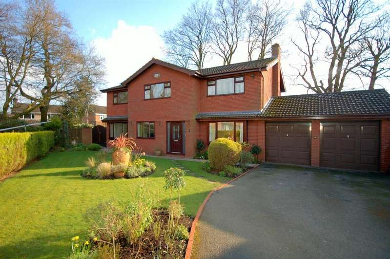 4 Bedrooms Detached House for sale in Ashdale Close, Alsager