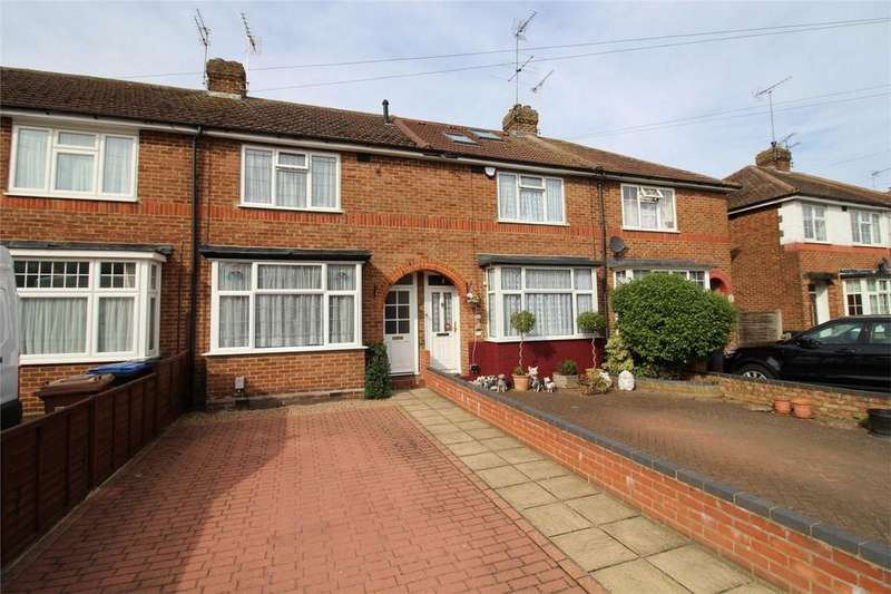 2 Bedrooms Terraced House for sale in Heathcote Avenue, Hatfield, Hertfordshire