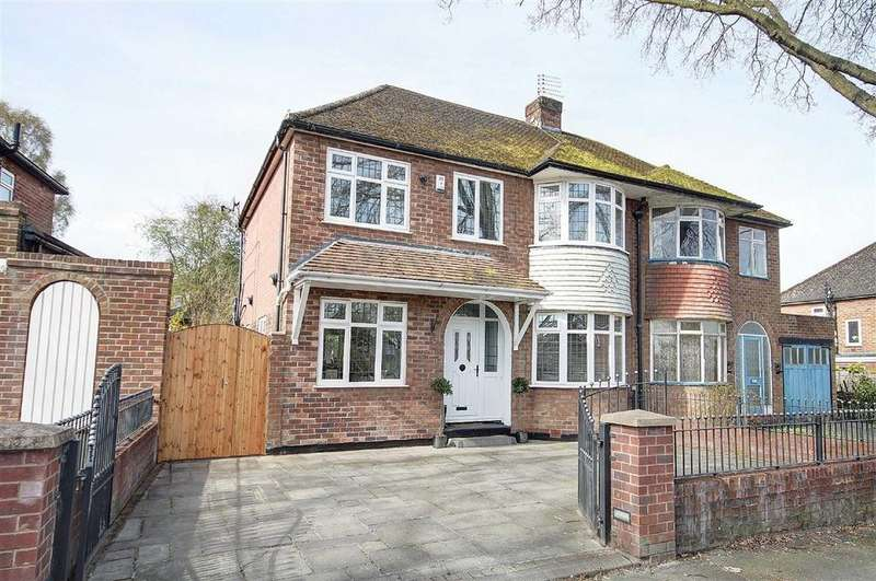 4 Bedrooms Semi Detached House for sale in Grove Lane, Hale, Cheshire