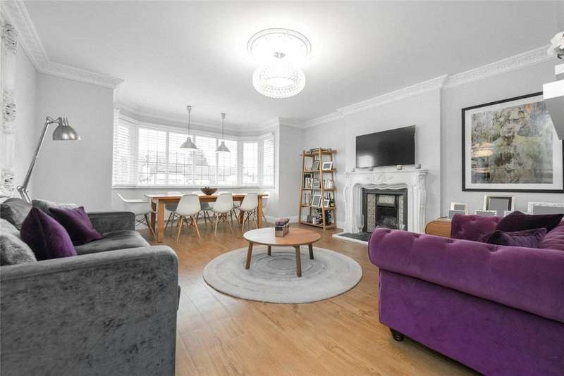 2 Bedrooms Flat for sale in Chatsworth Road, London, NW2
