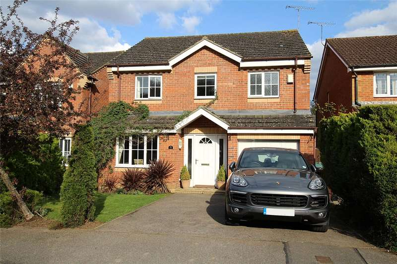 4 Bedrooms Detached House for sale in Wynches Farm Drive, St. Albans, Hertfordshire, AL4