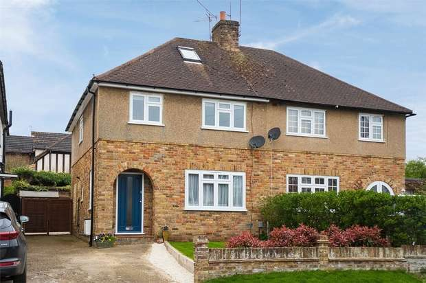 3 Bedrooms Semi Detached House for sale in Lovel Road, Chalfont St Peter, Buckinghamshire