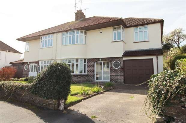 4 Bedrooms Semi Detached House for sale in Court Crescent, Bassaleg, NEWPORT