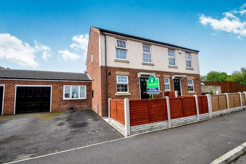 2 Bedrooms Semi Detached House for sale in Thornton Road, BARNSLEY, S70