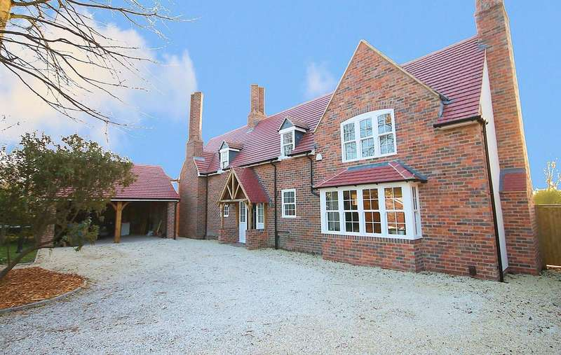 5 Bedrooms Detached House for sale in Old Tiles, Dosthill Road, Tamworth, B77 1HY