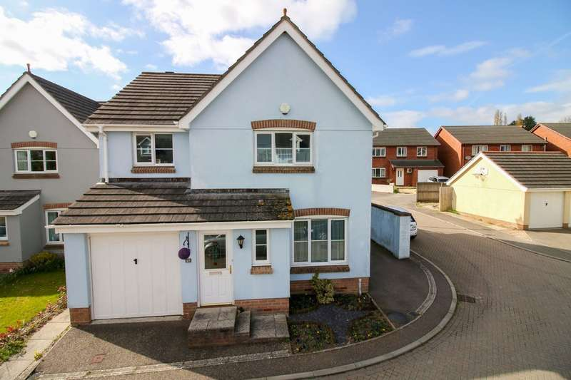 4 Bedrooms Detached House for sale in Knights Mead, Chudleigh Knighton
