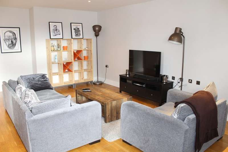 2 Bedrooms Flat for sale in The Lock Building, Whitworth Street West