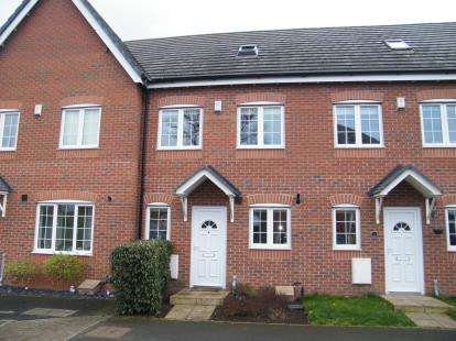 3 Bedrooms Terraced House for sale in Ashbank Place, Crewe, Cheshire