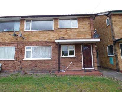 2 Bedrooms Maisonette Flat for sale in Hazeltree Croft, Acocks Green, Birmingham, West Midlands