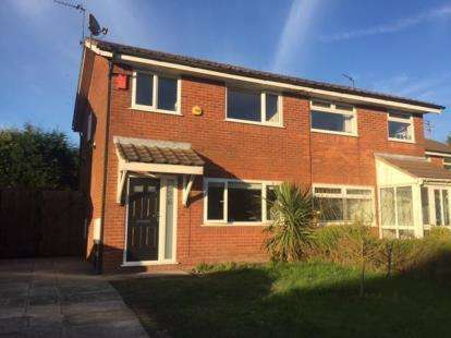 3 Bedrooms Semi Detached House for sale in Bader Drive, Heywood, Greater Manchester, OL10