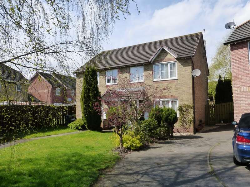 3 Bedrooms Semi Detached House for sale in Burreed Close, Cardiff
