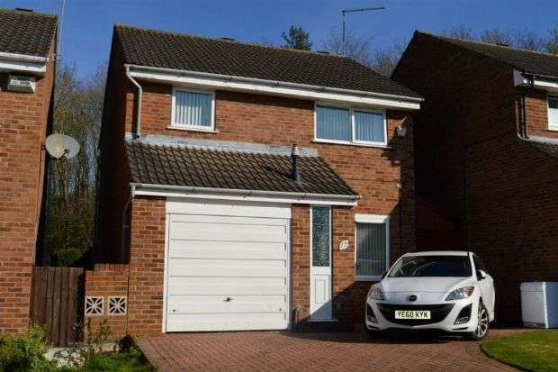 3 Bedrooms Detached House for sale in Marchwood Close, Watermeadow, Northampton NN3 8PP