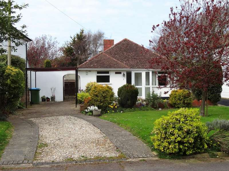 2 Bedrooms Detached Bungalow for sale in Roundle Avenue, Felpham PO22
