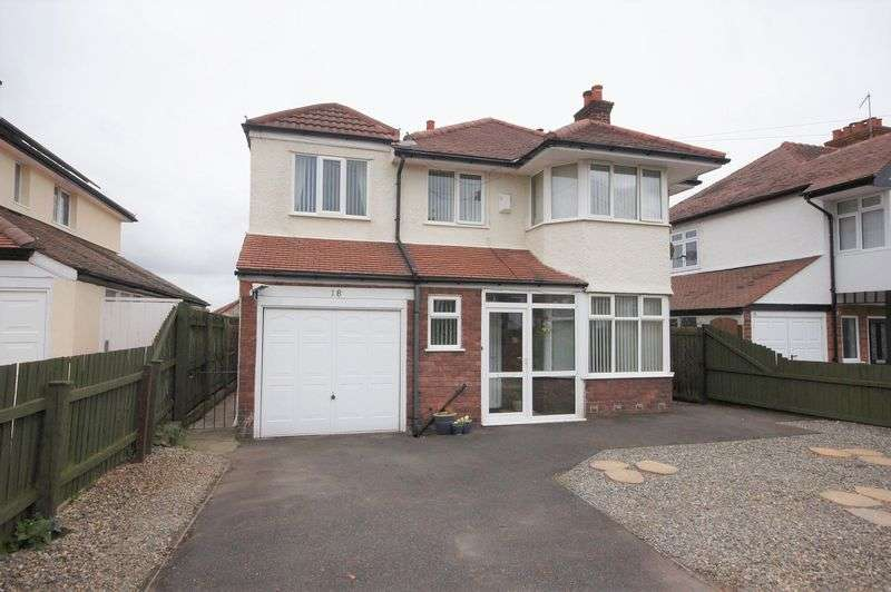 4 Bedrooms Detached House for sale in Kylemore Drive, Heswall
