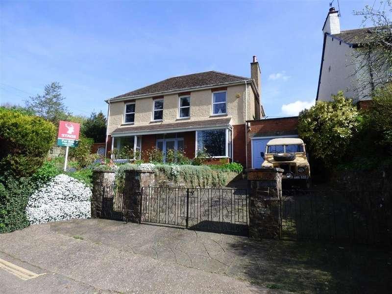 4 Bedrooms Detached House for sale in Park Hill, Tiverton, Devon, EX16