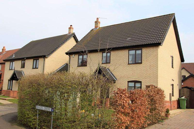 4 Bedrooms Detached House for sale in Wisteria Close, Dereham