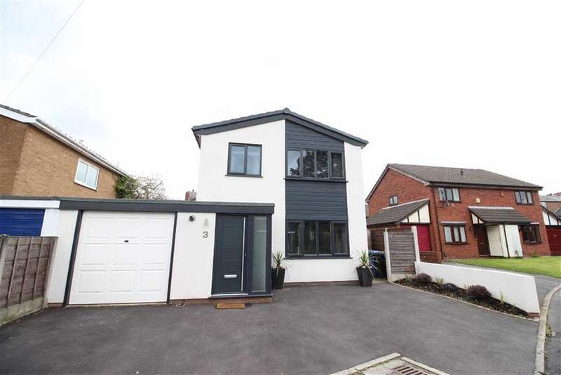 3 Bedrooms Link Detached House for sale in Milton Drive, Sale