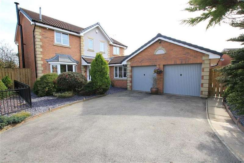 4 Bedrooms Detached House for sale in Wolveston Close, Newton Aycliffe, County Durham