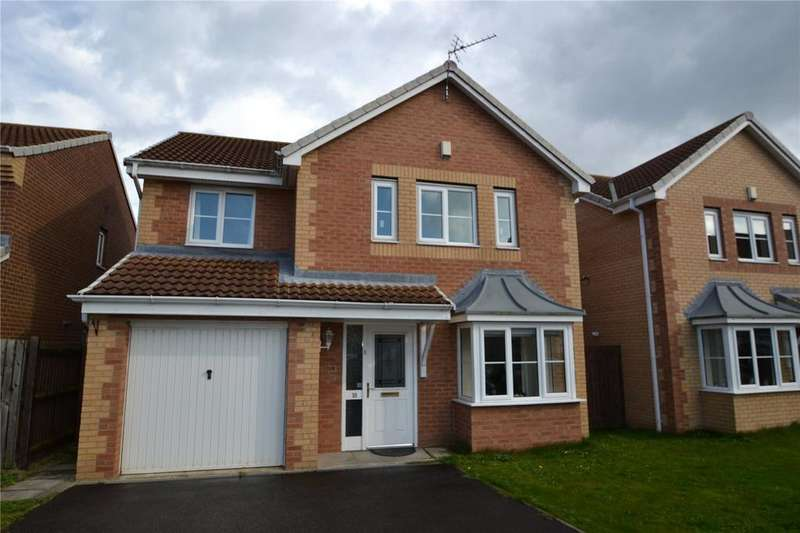 4 Bedrooms Detached House for sale in Sandford Close, Wingate, Co. Durham, TS28