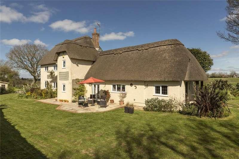 4 Bedrooms Detached House for sale in Lodge Drove, Woodfalls, Salisbury, Wiltshire, SP5