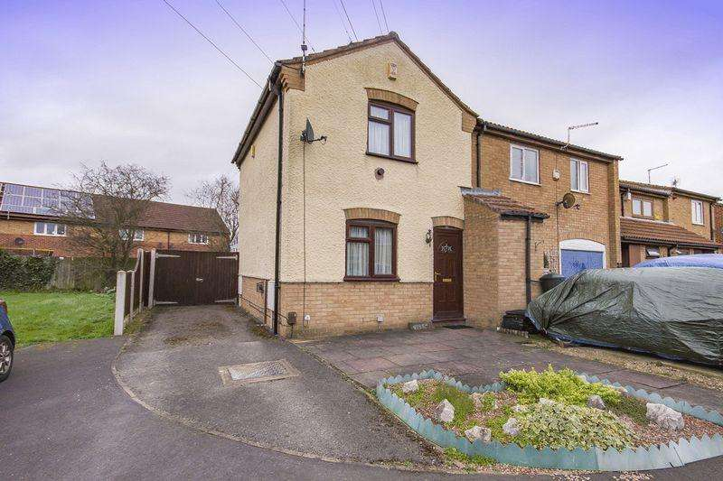 2 Bedrooms End Of Terrace House for sale in LUCCOMBE DRIVE, ALVASTON