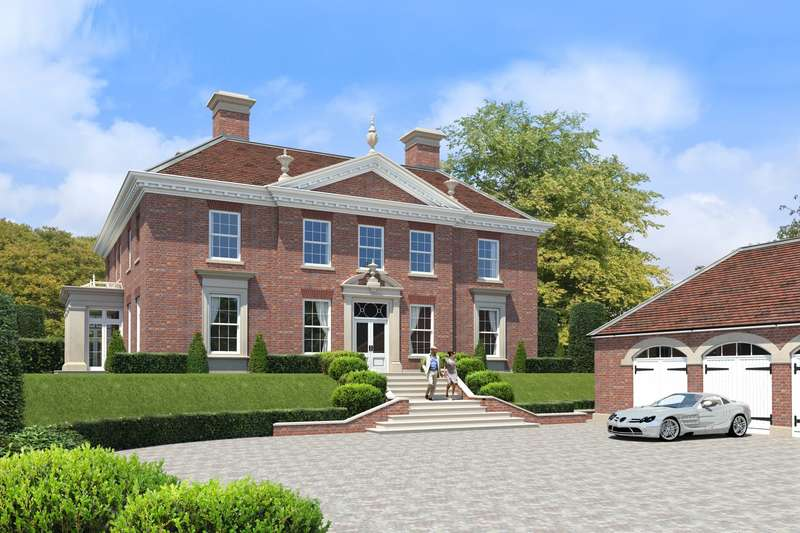 6 Bedrooms Detached House for sale in Long Bottom Lane, Seer Green, Beaconsfield, HP9