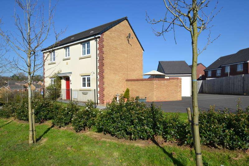 3 Bedrooms Detached House for sale in 29e Rhodfa Cnocell Y Coed, Broadlands, bridgend, Bridgend County Borough, CF31 5FS.