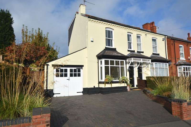 4 Bedrooms Semi Detached House for sale in Park Hill Road, Harborne