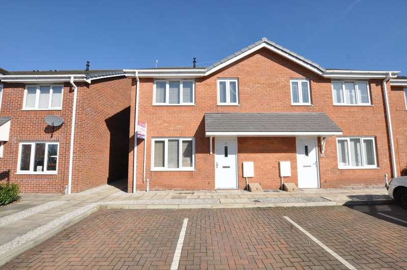 2 Bedrooms Semi Detached House for sale in Chandlers Close, Buckshaw Village, Chorley, Lancashire, PR7 7DY