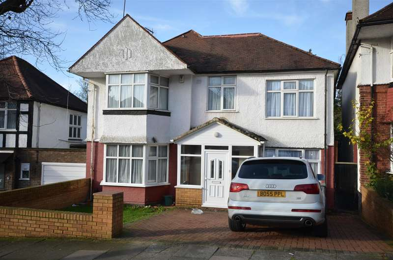 6 Bedrooms Detached House for sale in Corringham Road, Wembley, Middlesex, HA9 9PX
