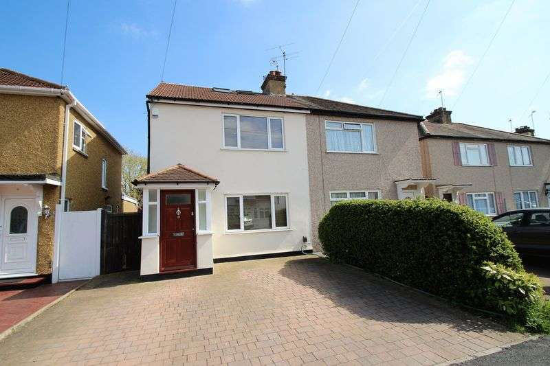 3 Bedrooms Semi Detached House for sale in Mead Close, Harrow