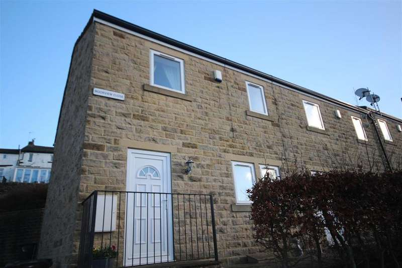 3 Bedrooms Town House for sale in 4 Moorview Close, Skipton Road, Foulridge, Colne