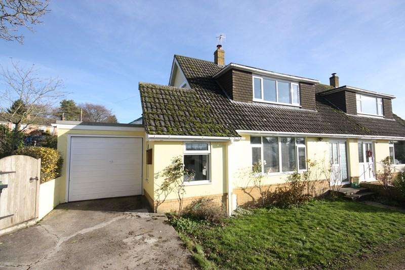 3 Bedrooms Semi Detached Bungalow for sale in Portman Road, Pimperne, Blandford Forum