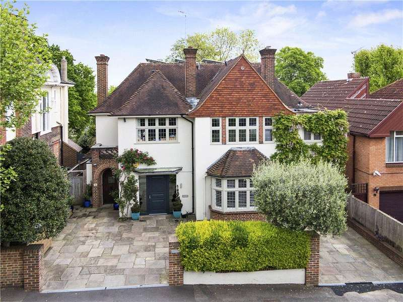 6 Bedrooms Detached House for sale in Burghley Road, Wimbledon Village, London, SW19