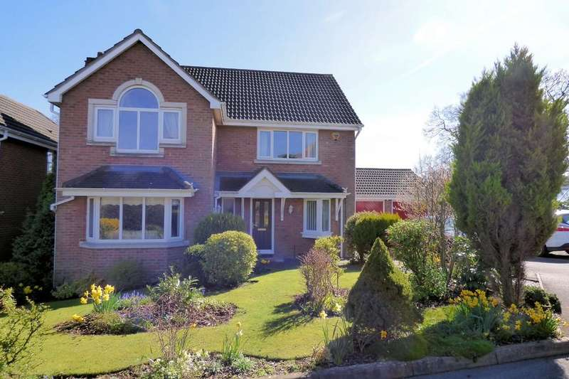 4 Bedrooms Detached House for sale in Stanway Close, Uttoxeter