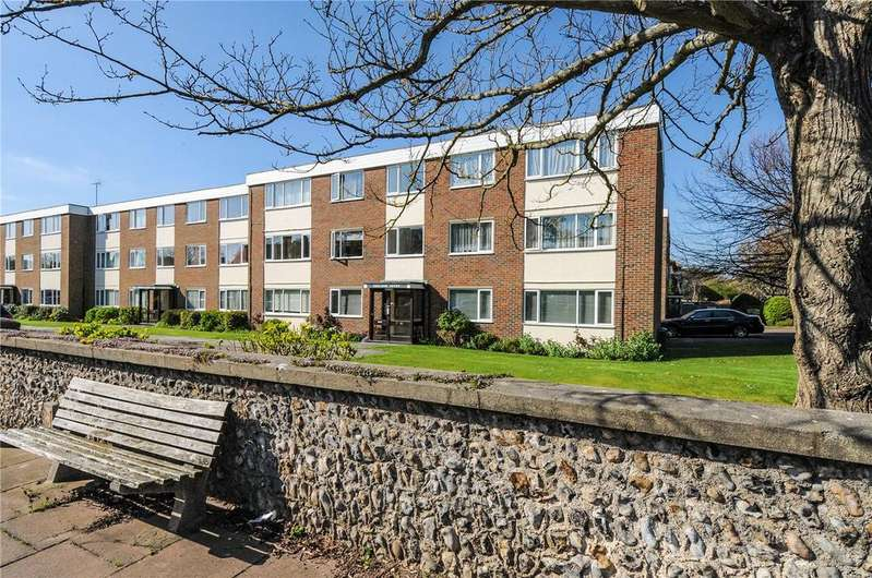 2 Bedrooms Flat for sale in Sheldon Court, Bath Road, Worthing, West Sussex, BN11