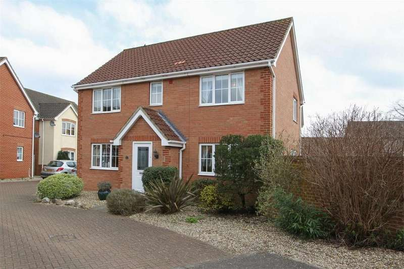 4 Bedrooms Detached House for sale in Varrick Way, Attleborough, Norfolk
