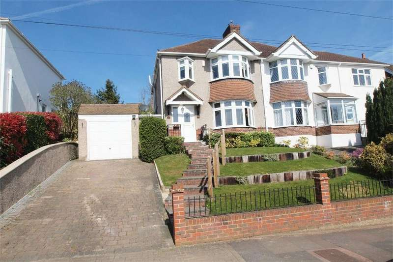 3 Bedrooms Semi Detached House for sale in Wood Lodge Lane, West Wickham, Kent