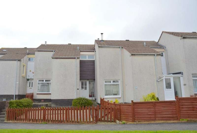 2 Bedrooms Terraced House for sale in Trefoil Place, Ayr, Ayrshire, KA7 3XG