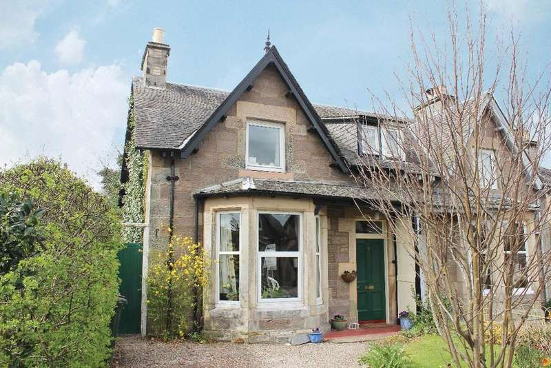 4 Bedrooms Semi Detached House for sale in Moncreiffe Terrace, Perth, Perthshire, PH2 0DB